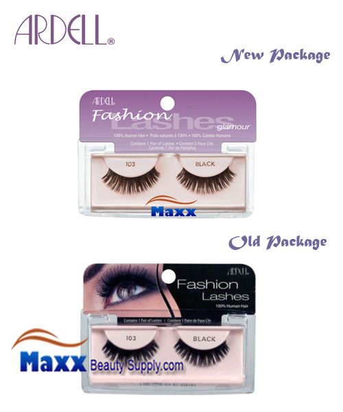 Ardell Fashion Lashes Eye Lashes 103 - Black