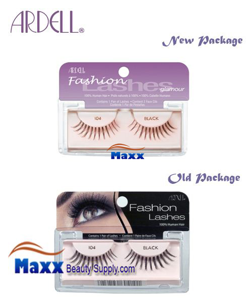 Ardell Fashion Lashes Eye Lashes 104 - Black