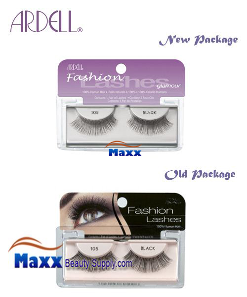 Ardell Fashion Lashes Eye Lashes 105 - Black
