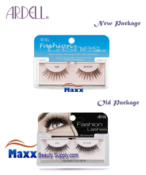 Ardell Fashion Lashes Eye Lashes 106 - Black