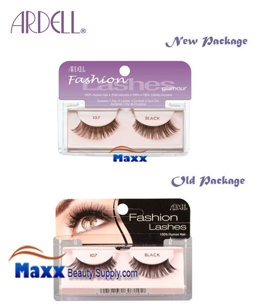 Ardell Fashion Lashes Eye Lashes 107 - Black