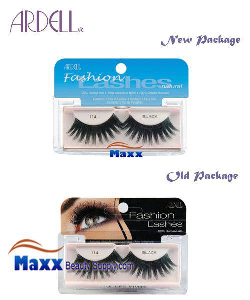 Ardell Fashion Lashes Eye Lashes 114 - Black