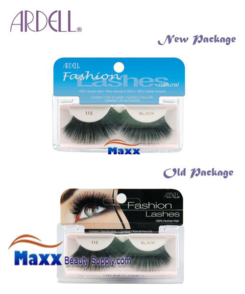 Ardell Fashion Lashes Eye Lashes 115 - Black