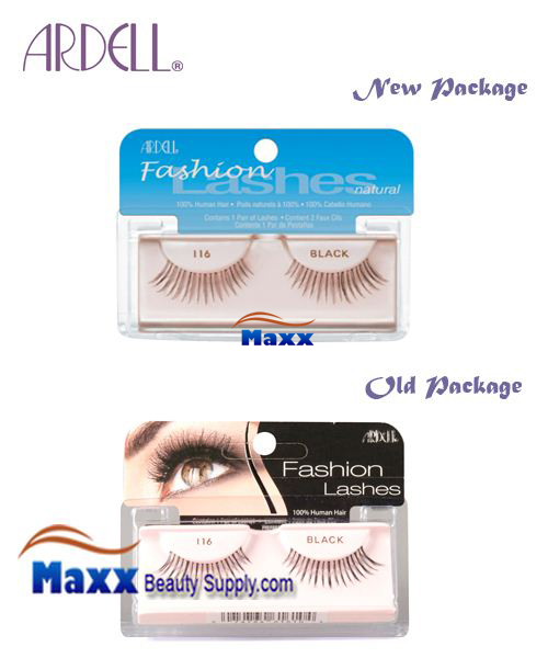 Ardell Fashion Lashes Eye Lashes 116 - Black