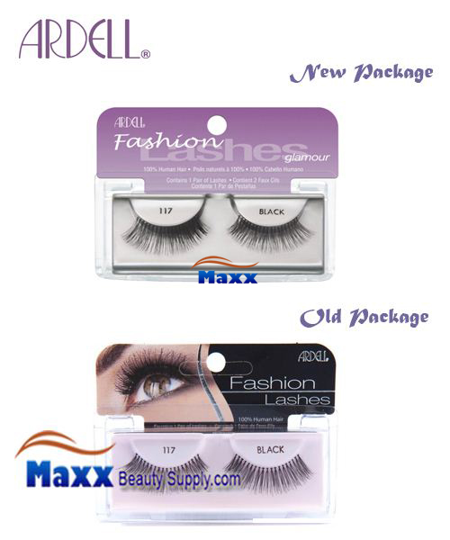 Ardell Fashion Lashes Eye Lashes 117 - Black