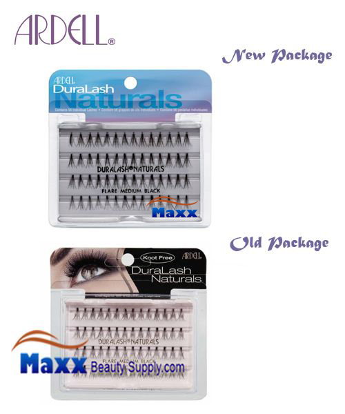 Ardell DuraLash Natural Knot Free Flare Lashes - Medium Black