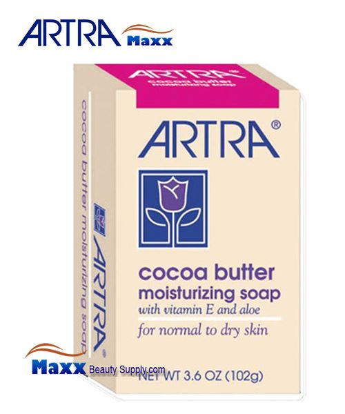 Artra Cocoa Butter Moisturizing Soap - for Normal to Dry Skin 3.6oz
