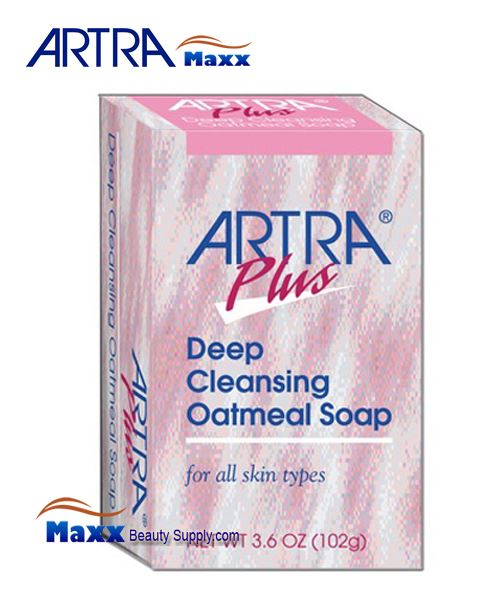 Artra Plus Deep Cleansing Oatmeal Soap - For all skin types 3.6oz