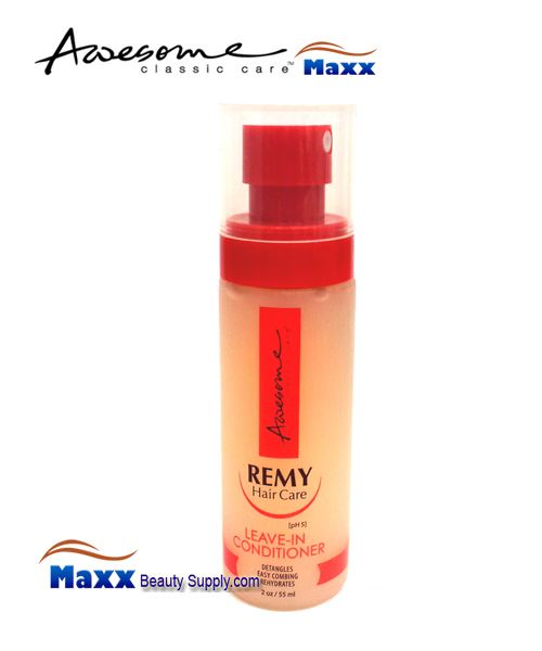Awesome Remy Hair Care Leave In Conditioner(pH5) 2oz - Bottle