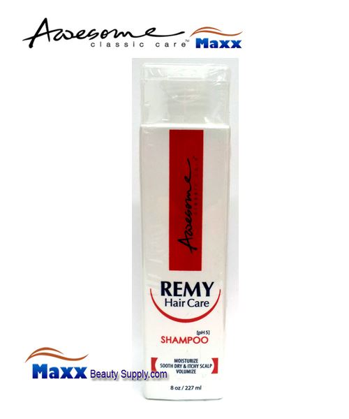 Awesome Remy Hair Care Shampoo(pH5) 8oz - Bottle