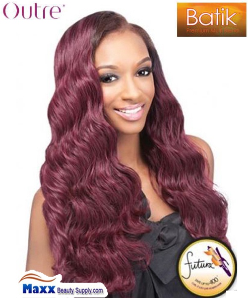 "Outre Batik Brazilian Bundle Weave Hair 18"", 22"""