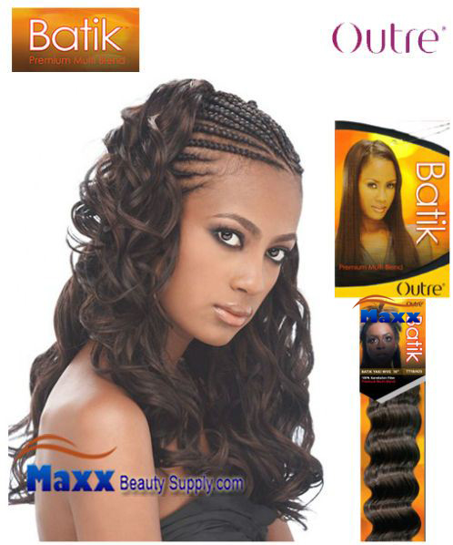 Outre Batik Synthetic Hair Braid - New Curly Bulk 18""