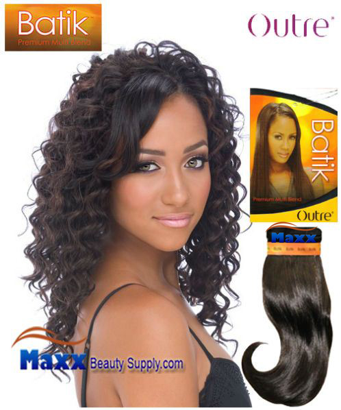 Outre Batik Synthetic Hair Weave - Deep Wave 14""
