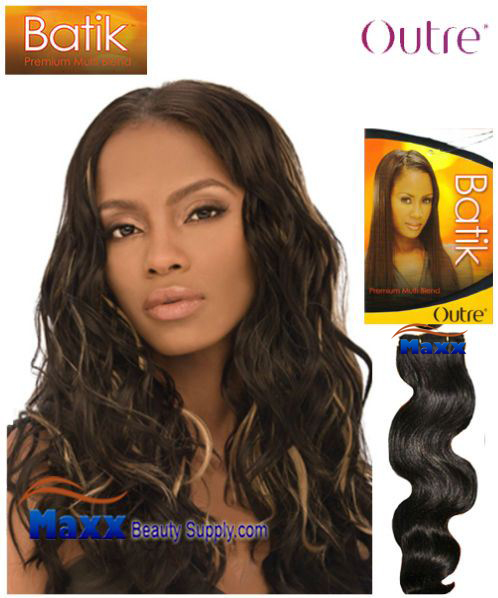 Outre Batik Synthetic Hair Weave - Glam Wave 14""