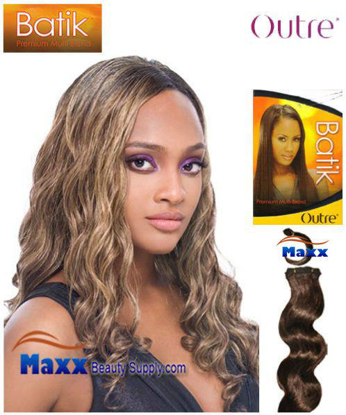 Outre Batik Synthetic Hair Weave - Grammy Wave 18""