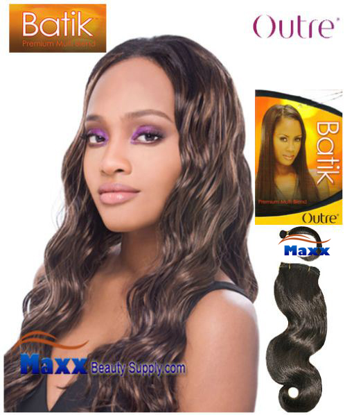 Outre Batik Synthetic Hair Weave - Loose Body 14""