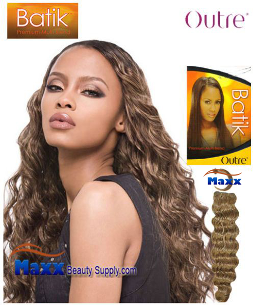 Outre Batik Synthetic Hair Weave - Loose Deep 12""