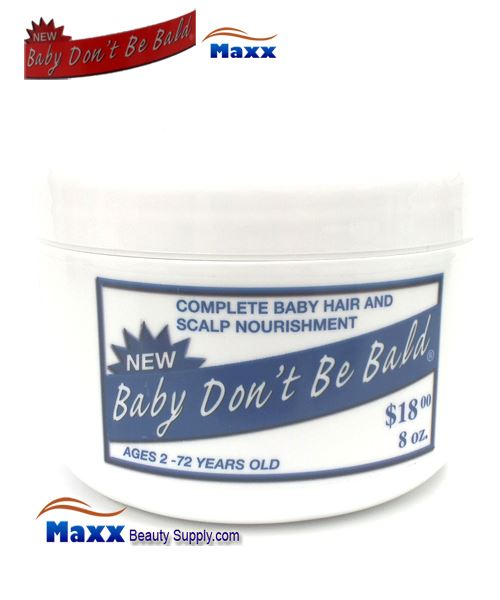 Baby Don T Be Bald Baby Hair Scalp Nourishment 8oz Jar 8 99