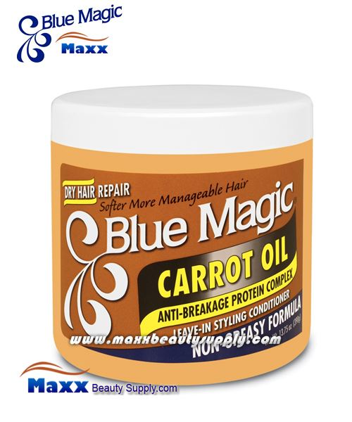 Blue Magic Carrot Oil Leave-In Styling Conditioner 13.75oz - Jar