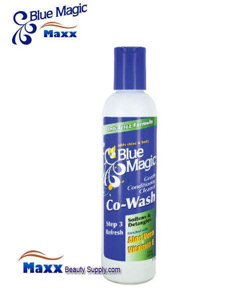 Blue Magic Co-Wash Conditioning Cleanser 8oz. - Bottle