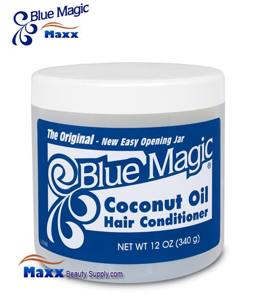 Blue Magic Coconut Oil Hair Conditioner 12oz - Jar