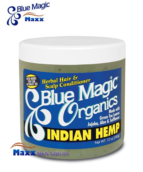 Blue Magic Organics Indian Hemp 12oz - Jar
