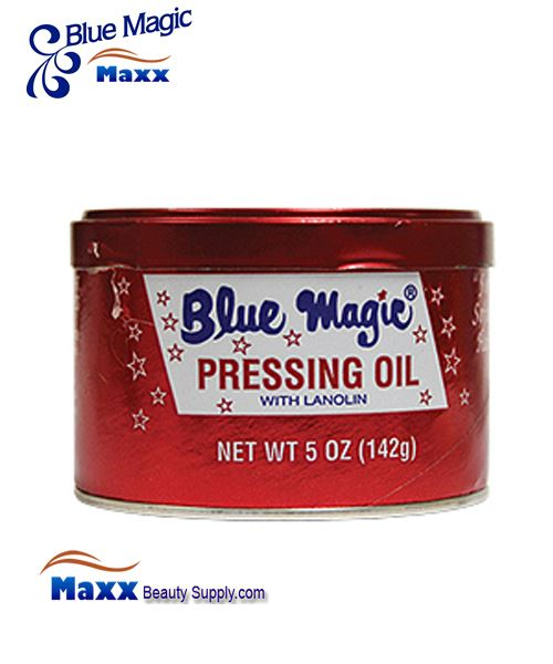 Blue Magic Pressing Oil with Lanolin 5 oz