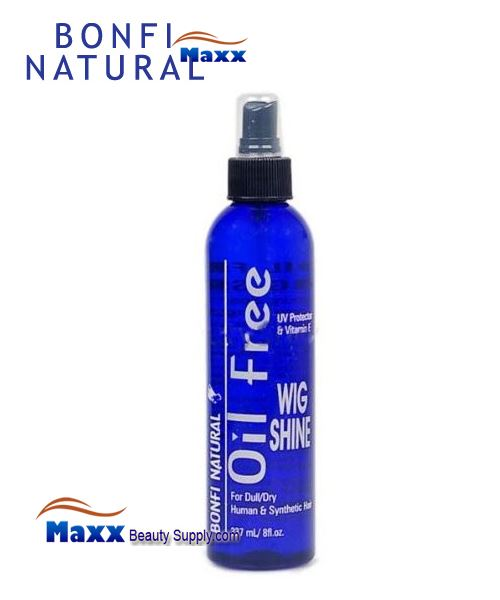 Bonfi Natural Oil Free Wig Shine Spray 8oz - Bottle