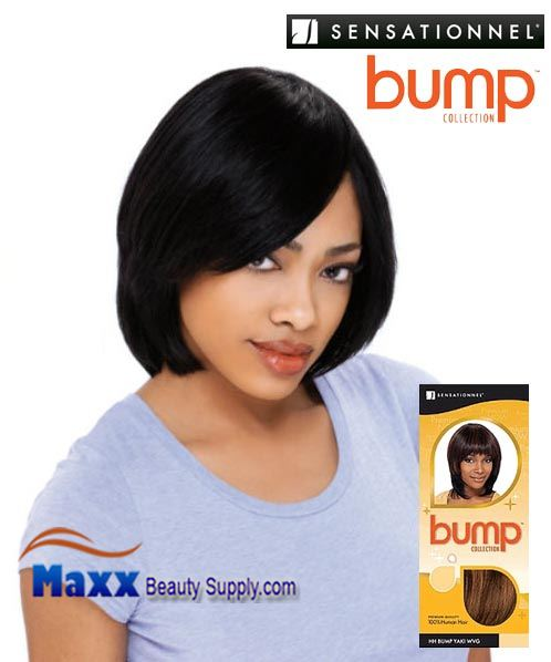 Sensationnel Bump Collection Human Hair Weave - Bump Yaki 8""