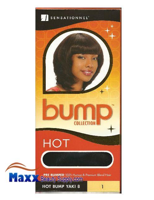 Sensationnel Bump Collection Human Hair Weave Hot Bump Yaki 8