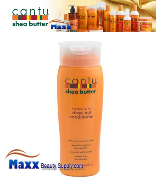 Cantu Shea Butter Shea Butter Moisturizing Rinse Out Conditioner 13.5oz Bottle