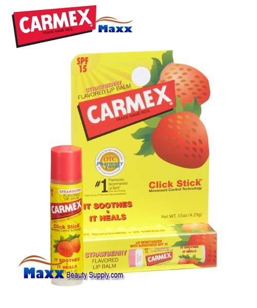 Carmex Stick Strawberry Stick Lip Balm 0.15oz