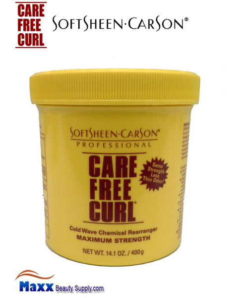 Softsheen Carson Care Free Curl Chemical Rearranger 14.1oz - Maximum