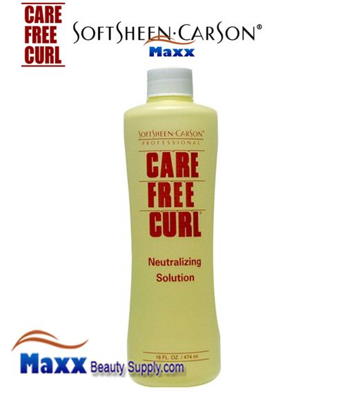 Softsheen Carson Care Free Curl Neutralizing Solution 16oz