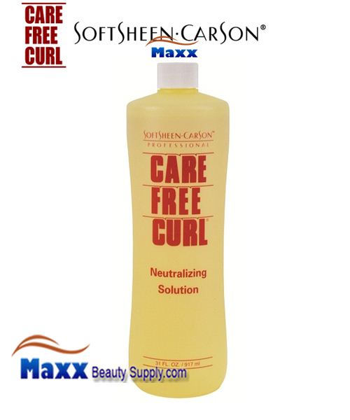 Softsheen Carson Care Free Curl Neutralizing Solution 31oz