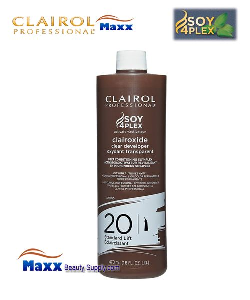 Clairol Clairoxide 20 Volume Clear Developer 16oz - Bottle