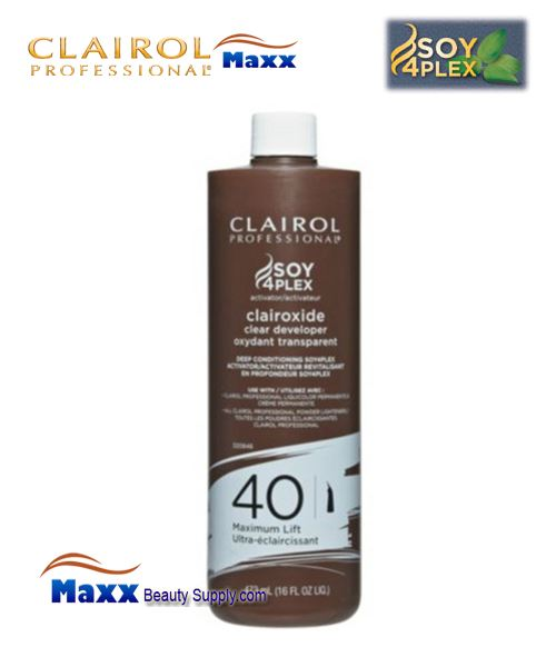 Clairol Clairoxide 40 Volume Clear Developer 16oz - Bottle