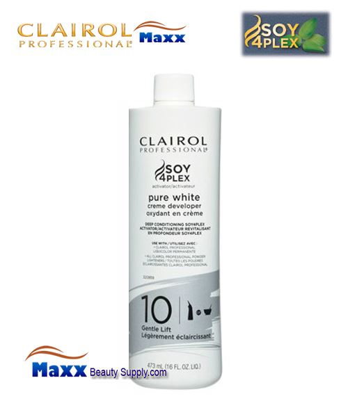 Clairol Pure White 10 Volume Creme Developer 16oz - Bottle