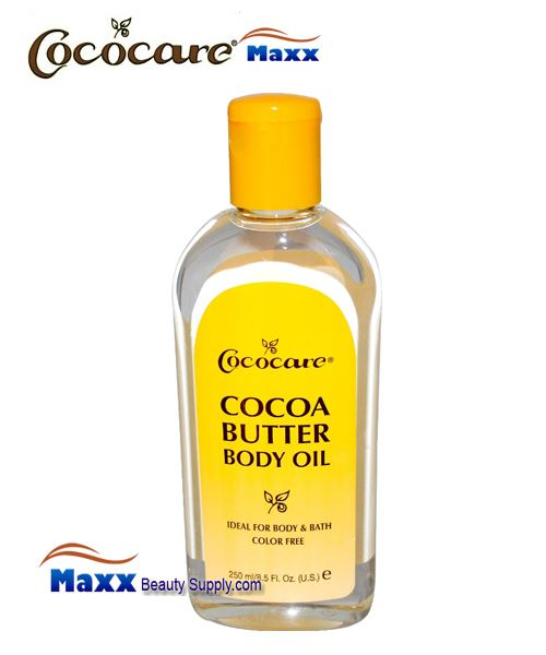 Cococare Cocoa Butter Body Oil 8.5oz - Bottle