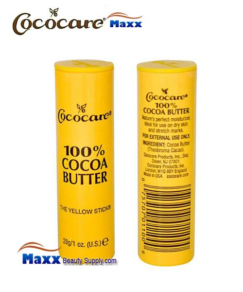 Cococare 100% Cocoa Butter Sticks 1oz - 1pc