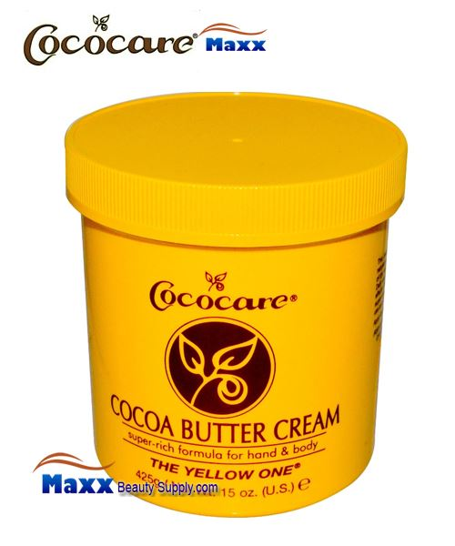 Cococare Cocoa Butter Cream Super Rich Formula 15oz - Jar