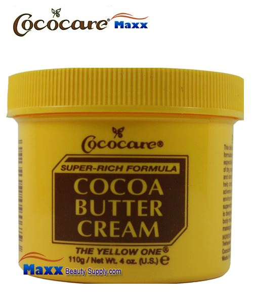 Cococare Cocoa Butter Cream Super Rich Formula 4oz - Jar