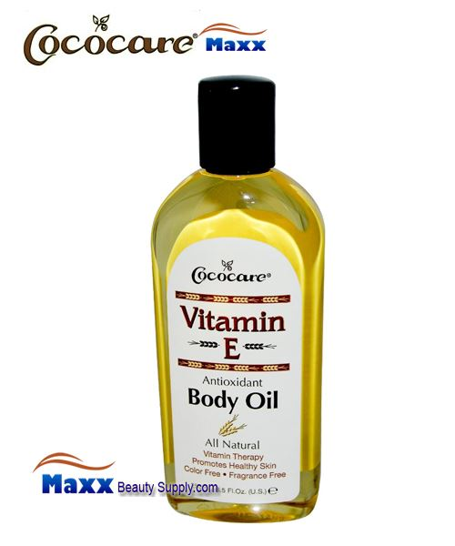 Cococare Vitamin E Body Oil 8.5oz - Bottle
