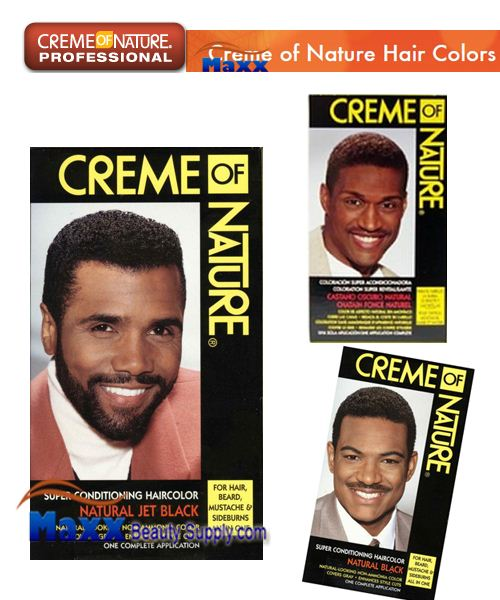 Creme of Nature Men Liquid Super Conditioning Permanent Hair Color Kit
