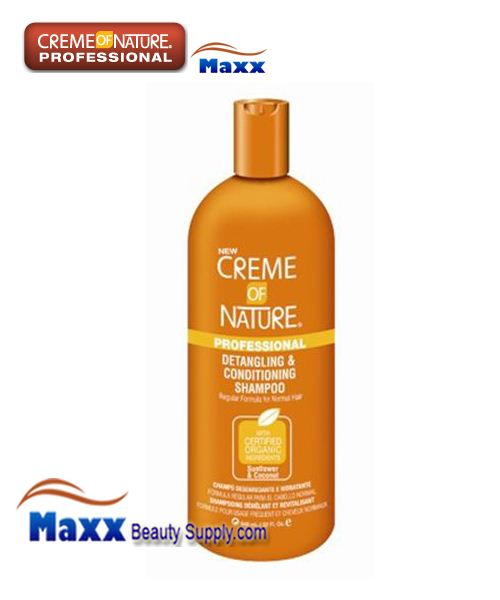 Creme Of Nature Detangling and Conditioning Shampoo - Sunflower & Coconut 32oz
