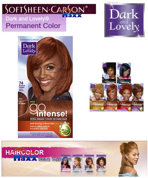 Softsheen Carson Dark and Lovely Go Intense Hair Color