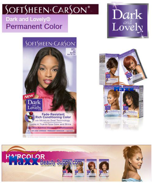 Softsheen Carson Dark and Lovely Permanent Hair Color
