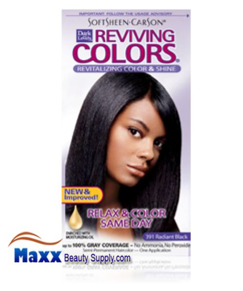 Softsheen Carson Dark And Lovely Semi Permanent Reviving