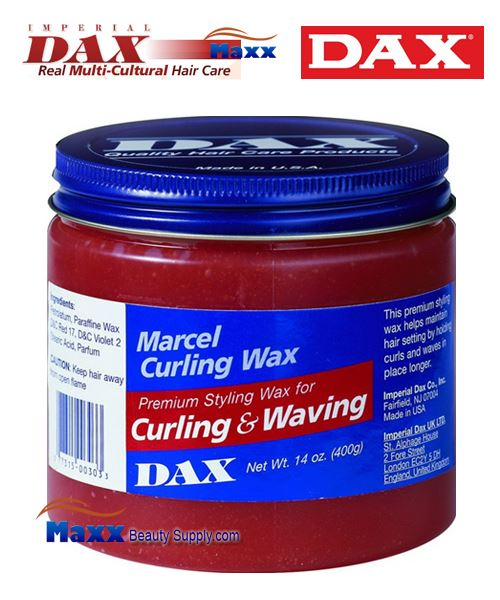 Dax Marcel Curling Wax Premium Styling for Curling & Waving 14oz