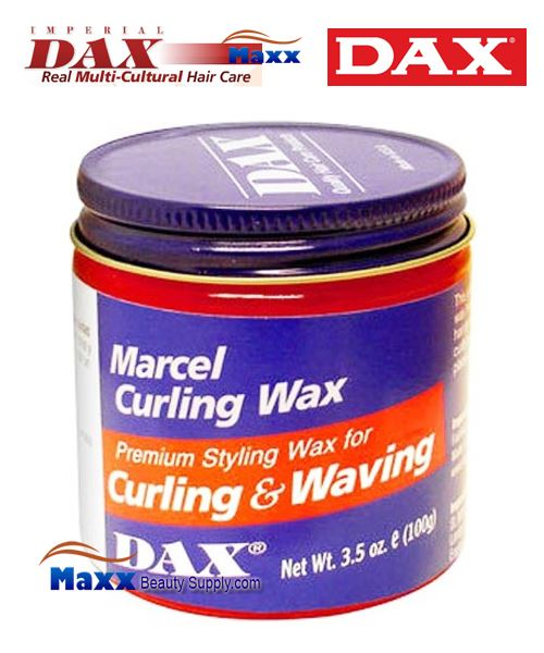 Dax Marcel Curling Wax Premium Styling for Curling & Waving 3.5oz